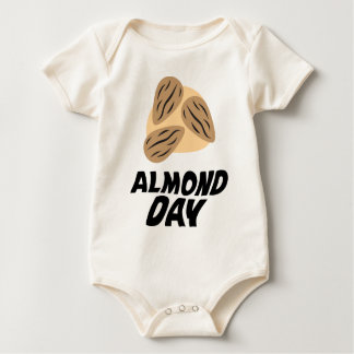 Sixteenth February - Almond Day Baby Bodysuit