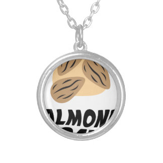 Sixteenth February - Almond Day Silver Plated Necklace