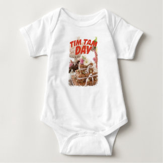 Sixteenth February - Tim Tam Day Baby Bodysuit