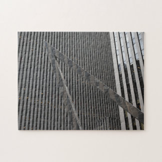 Sixth Avenue Architecture New York City Photograph Jigsaw Puzzle