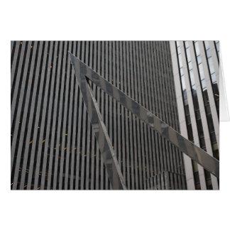 Sixth Avenue Architecture New York City Skyscraper Card