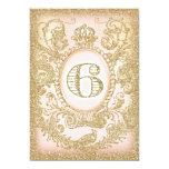 Sixth Birthday Dream Big 13 Cm X 18 Cm Invitation Card