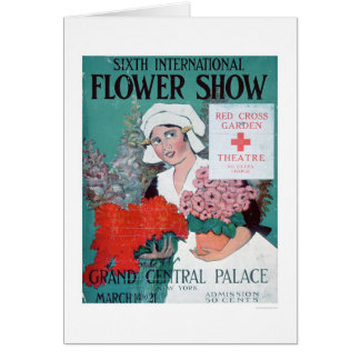Sixth International Flower Show (US00282) Greeting Card