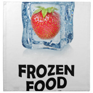Sixth March - Frozen Food Day Napkins