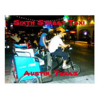 Sixth Street Taxi Post card