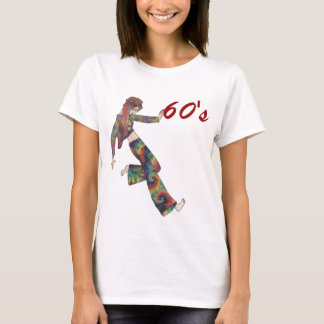 Sixties Collage Girl T-Shirt