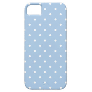 Sixties Style Blue Polka Dot iPhone 5/5S Case