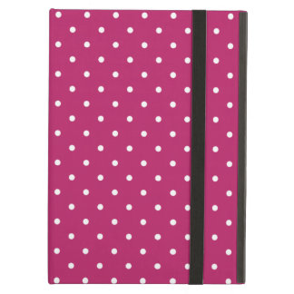 Sixties Style Carmine Red Polka Dot iPad Air Case