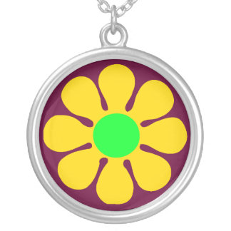 Sixties Style Flower Necklace