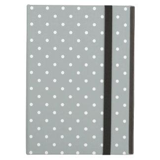 Sixties Style Gray Polka Dot iPad Air Case
