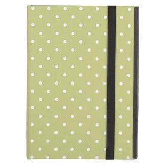 Sixties Style Green Polka Dot iPad Air Case