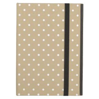 Sixties Style Khaki Polka Dot iPad Air Case