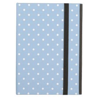Sixties Style Light Blue Polka Dot iPad Air Case
