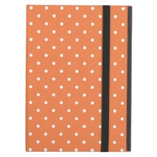 Sixties Style Orange Polka Dot iPad Air Case
