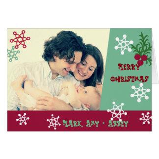 Sixties Style Photo Christmas Card