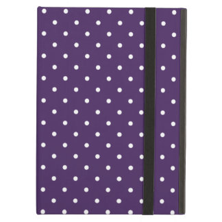 Sixties Style Purple Polka Dot iPad Air Case