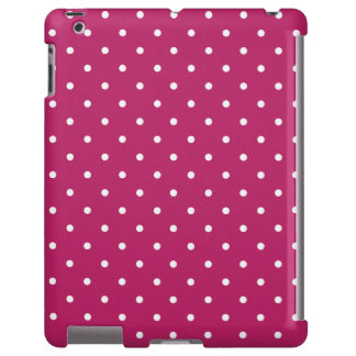 Sixties Style Red Polka Dot iPad 2/3/4 Case