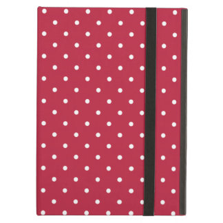 Sixties Style Red Polka Dot iPad Air Case