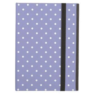 Sixties Style Violet Polka Dot iPad Air Case