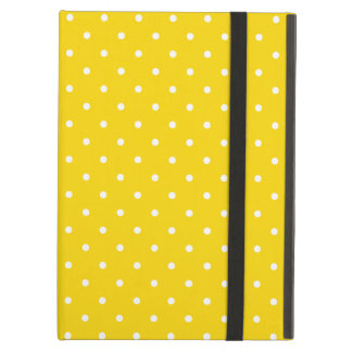 Sixties Style Yellow Polka Dot iPad Air Case
