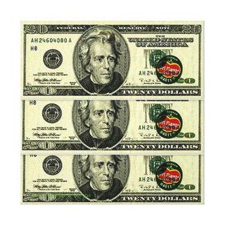 SIXTY DOLLAR DEL MONTE COMPOSITION CANVAS PRINT