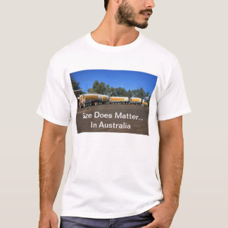 Size Does Matter - Road Train T-shirt
