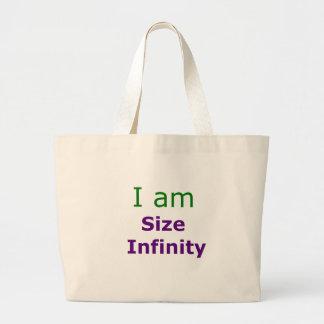 Size Infinity Jumbo Tote Bag