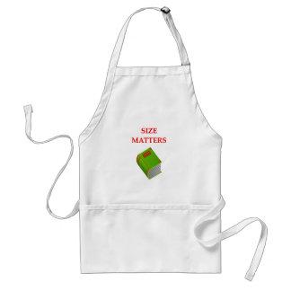 size matters apron