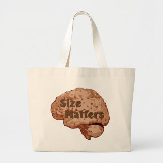 Size Matters Canvas Bags