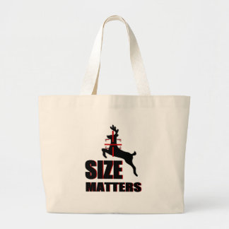 Size Matters Deer Hunting Canvas Bags