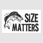 Size Matters! Funny Fishing Design