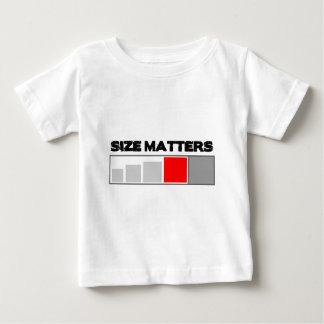 Size Matters - Geocaching Stuff Baby T-Shirt