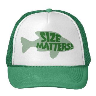 Size Matters Trucker Hats