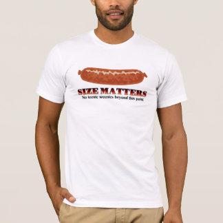 Size Matters - No Teenie Weenies T-Shirt