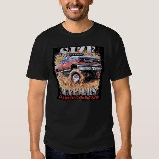 Size matters tshirt