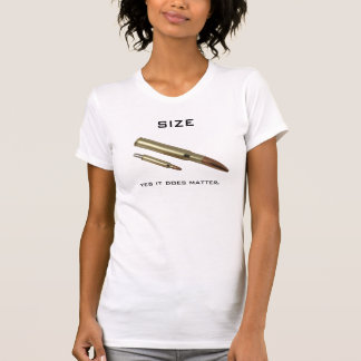 Size, yes it does matter. tee shirts