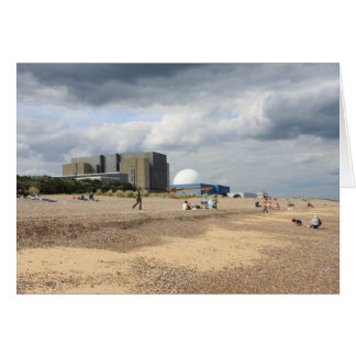 Sizewell Nuclear Power Station Greeting Card