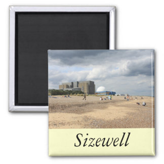 Sizewell Nuclear Power Station Square Magnet