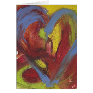 Sizzling Heart Card