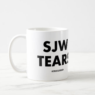 SJW TEARS COFFEE MUG