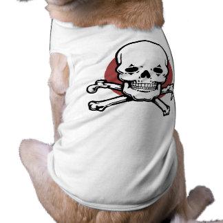 sk109 sleeveless dog shirt