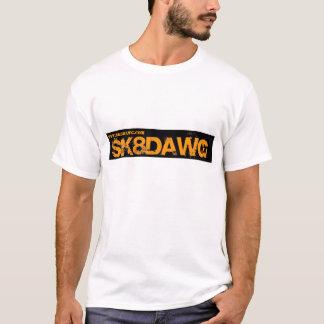 SK8DAWG Orange Logo T-Shirt
