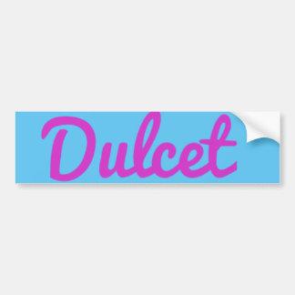 Sk8DULCET sticker Bumper Sticker