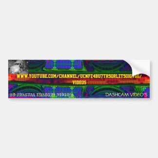 SK8N LLC YOUTUBE WORD OUT BUMPER STICKER