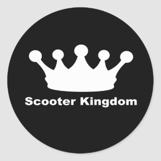 SK Classic Round Sticker