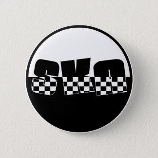Ska 6 Cm Round Badge