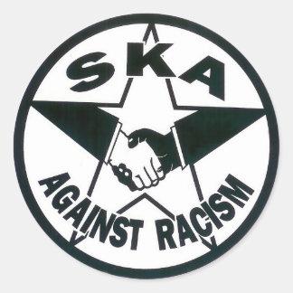 Ska Against Racism Classic Round Sticker