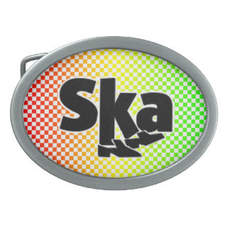 Ska Belt Buckle
