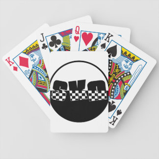Ska Bicycle Playing Cards