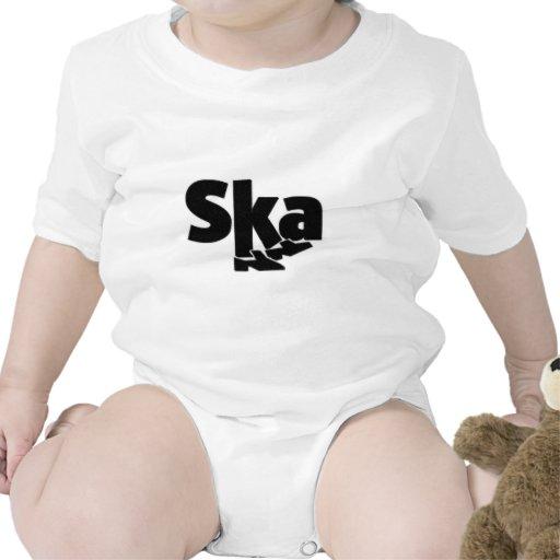 SKA Dancing Feet Baby Bodysuit